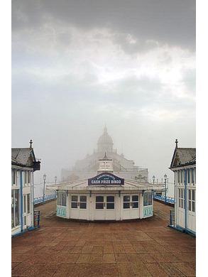 Eastbourne Pier, In Mist