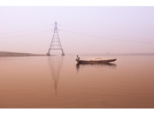 Ganges Fisherman