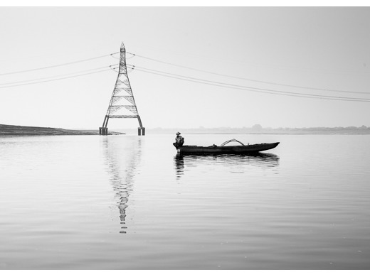 Ganges Fisherman (mono)