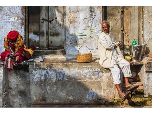 Sleeping Partner, Varanasi, India