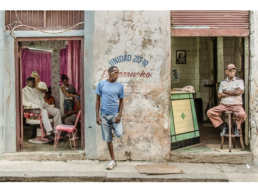 Street Scene, Cuba