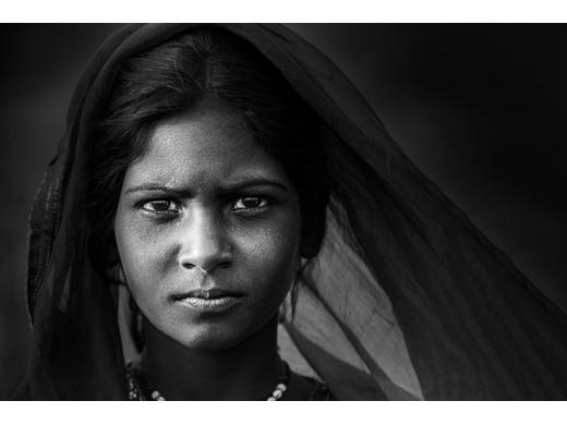 Young Girl, Pushkar Fair, India